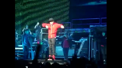 One Time - Justin Bieber - 08/08/2010 - Charlotte, Nc live