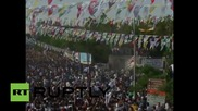 Експлозия по време на митинг на кюрдска опозиционна партия в Турция, 10 ранени
