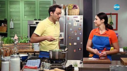 Студена супа пт зелени чушки - Бон апети (31.07.2018)