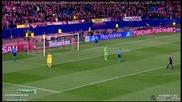 Атлетико ( Мадрид ) 1:0 Байер ( Леверкузен ) (4:2 след дузпи) 17.03.2015
