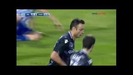 18.10 Гол на Димитър Бербатов срещу Ираклис