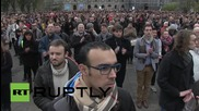 France: Lille residents observe moment of silence for victims of Paris attacks