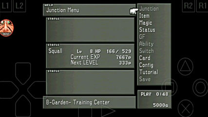 Final Fantasy 8 - 3 Renzokuken