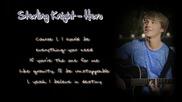 Sterling Knight - Hero - Lyrics on the screen [hd] Download