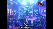 Превод* Теодора Ft. Синан Акчъл - Събота (cumartesi) Live Beyaz Show 22.4.2011