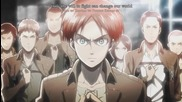 Shingeki no Kyojin Op 1 | Attack On Titan Opening Theme | Linked Horizon - Guren no Yumiya bg