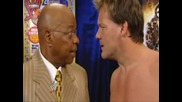wwe smackdown 03.04.2010 teddy long & chris jericho baskatge