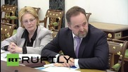 Russia: Russia ready to cut greenhouse emissions by 30 percent, Putin told