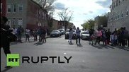 USA: Michael Jackson rocks Baltimore protest