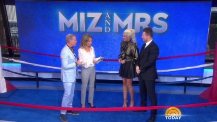 "The Miz & Maryse teach Kathie Lee Gifford & Elvis Duran how to make an entrance on ""Today"""