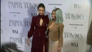The Jenner Girls Show Lots of Skin At 'Paper Towns' Premiere