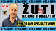 !!! Hajrudin Bradaric Zuti 2016 - Probao sam opet, da te volim ( oficial audio ) - Prevod
