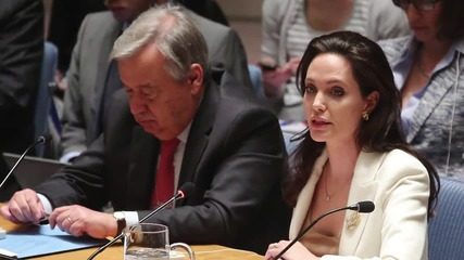 Angelina Jolie Addresses the UN about Syria