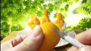 Карвинг с портокали