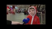 Kid Flattened After Tv Interview