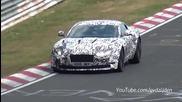 2017 Aston Martin Db11 Testing Again on the Nurburgring