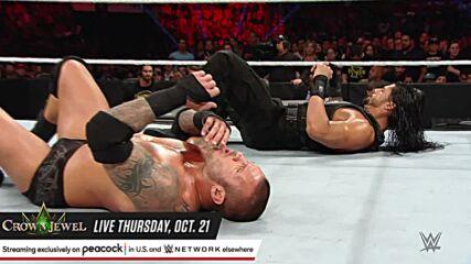 Roman Reigns vs. Randy Orton: Raw, May 4, 2015 (Full Match)