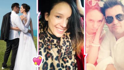 Бременната Луиза Григорова с очарователен кадър от сватбата