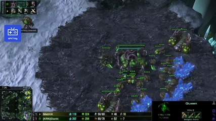Star Craft 2 Giantt vs. Methix игра 3
