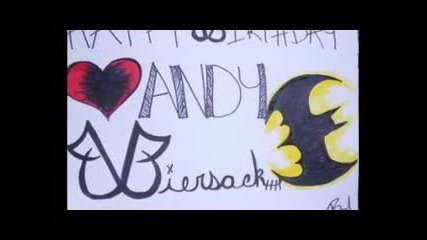 Happy Birthday Andy Biersack!