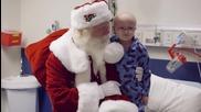 Дядо Коледа с най-благородната мисия