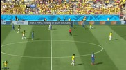 World Cup 2014 - Colombia vs Greece 3-0