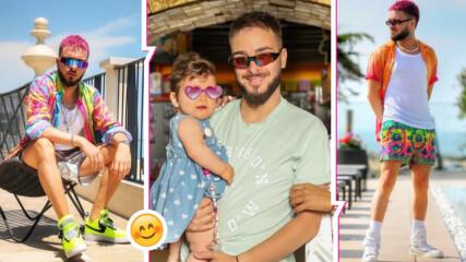 Криско за All Inclusive, тренировките и това как расте дъщеричката му Амая