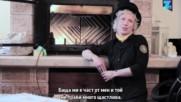Жената, която работи като коминочистач