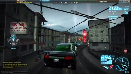 Need for Speed #1 (скрита камера с Bearrage