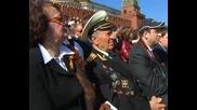Реч на Медведев на военния парад 9 май 2009 год.