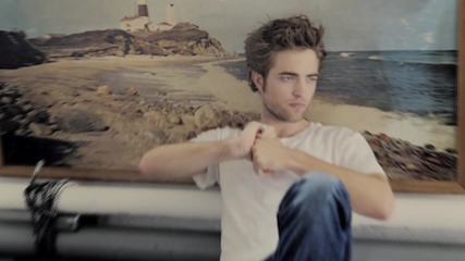 Robert Pattinson / Slow me down [own for crankitup ;*]