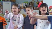Испански с 4-та група на Детската градина на ЕСПА