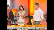 2014 Tanja Savic i Milos Brkic - Poplava (live) - Tv Sky Plus 2014