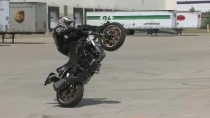 Motorcycle Stunts - Dan Jackson Stunts
