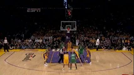 [playoffs 2010] Boston Celtics - La Lakers (game 1)