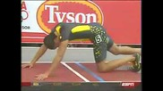 Wallace spearmon - Mens 200 indoor 2008