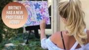Бритни продаде своя картина за 10 000$