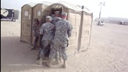 Military police - Tactical porta potty clearing