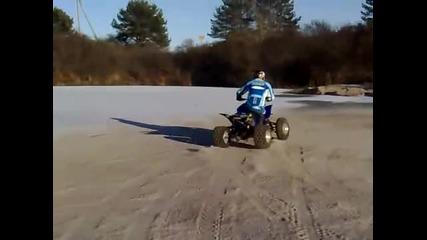 Atv Sport Yamaha Yfz 450 drift