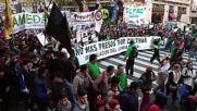Argentina: Wheelchair bound children lead cannabis march in Buenos Aires