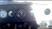 Булдозер Комацу D 355 a в движение