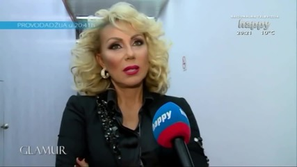 Lepa Brena - Specijalni gost na koncertu Snezane Djurisic - Glamur ( TV Happy 24.02.2015.)