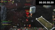 World of warcraft Swifty vs Blood Dk (wow Gameplay_commentar)