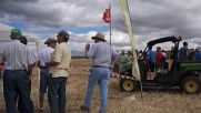 Spain: World's biggest chess match played out with real tractors as pieces