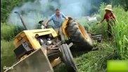 Руски несгоди с Трактори - Много смях