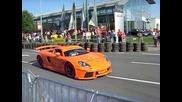 На какво е способно Porsche Carrera Gt Burnout - Vbox7