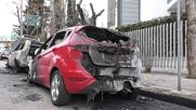 Greece: Cars torched in Ukraine embassy attack