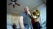 Камера на тромбон (смях)