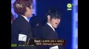 [091210] Gd@ Super Junior, Shinee & Snsd - Mj Tribute