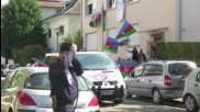 France: Armenians protest outside Azerbaijani consulate over Karabakh conflict